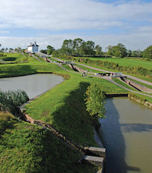 Foxton locks, Grand Union Canal