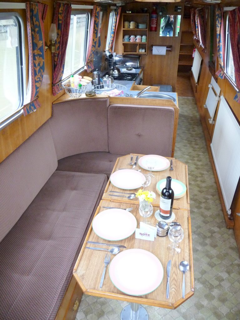 Rumba Dining to Galley