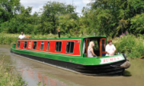 Rose Narrowboats Orange Class