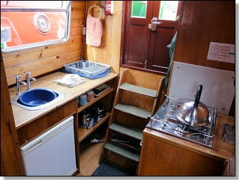 Rosette galley