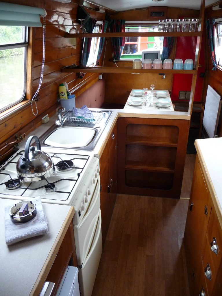 Buckaroo Galley to Dining