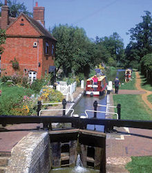 Oxford Canal Lock