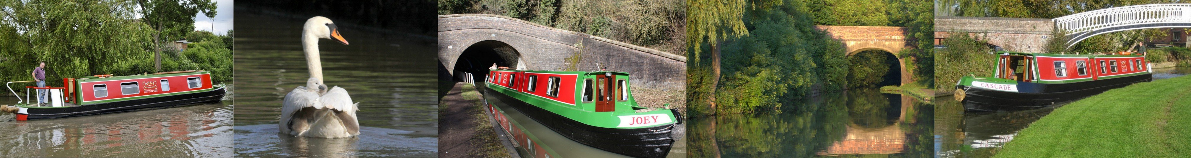 Rose Narrowboats Collage