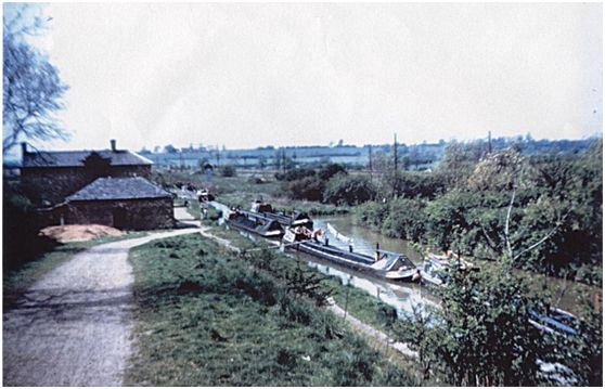 Stretton Stop in 1961