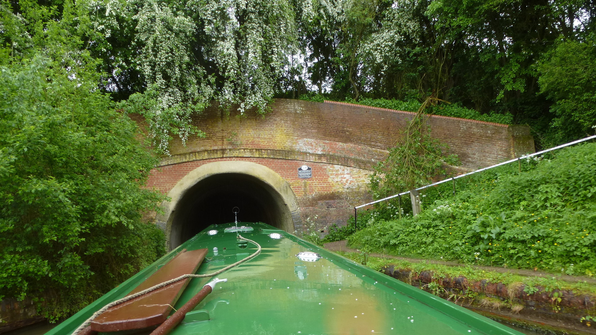 Braunston Tunnel Grand Union Canal