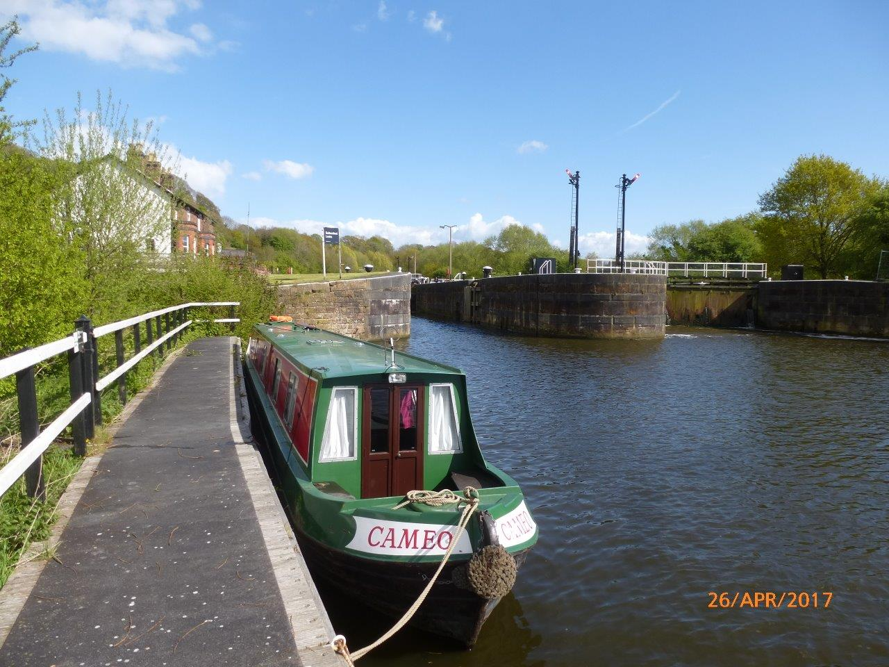 Saltersford Locks River Weaver