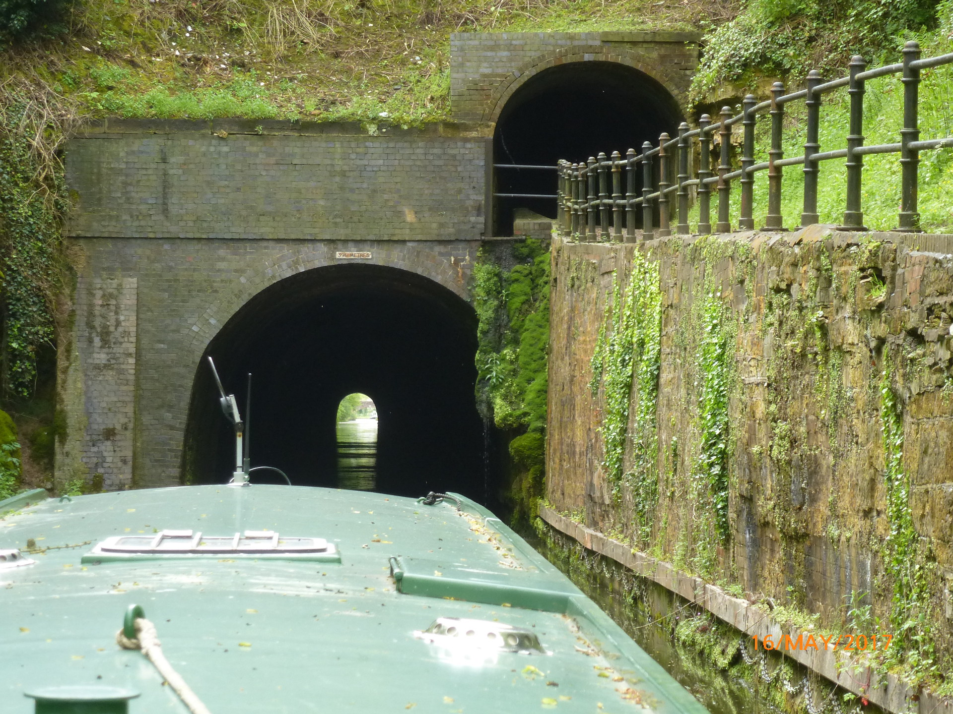 Shrewley Tunnel, Grand Union Canal